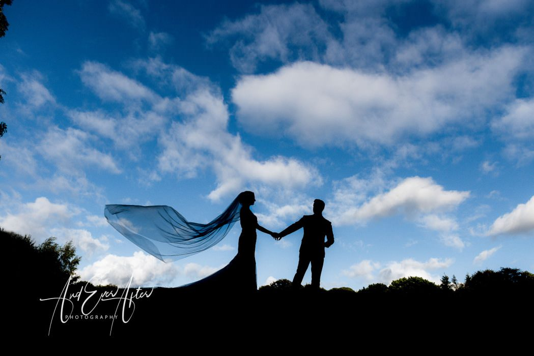 Wedding photography, bride and groom, Yorkshire wedding