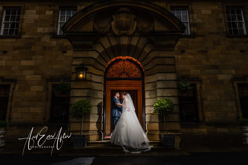 North East Wedding Photography, wedding venue, Crathorne hall