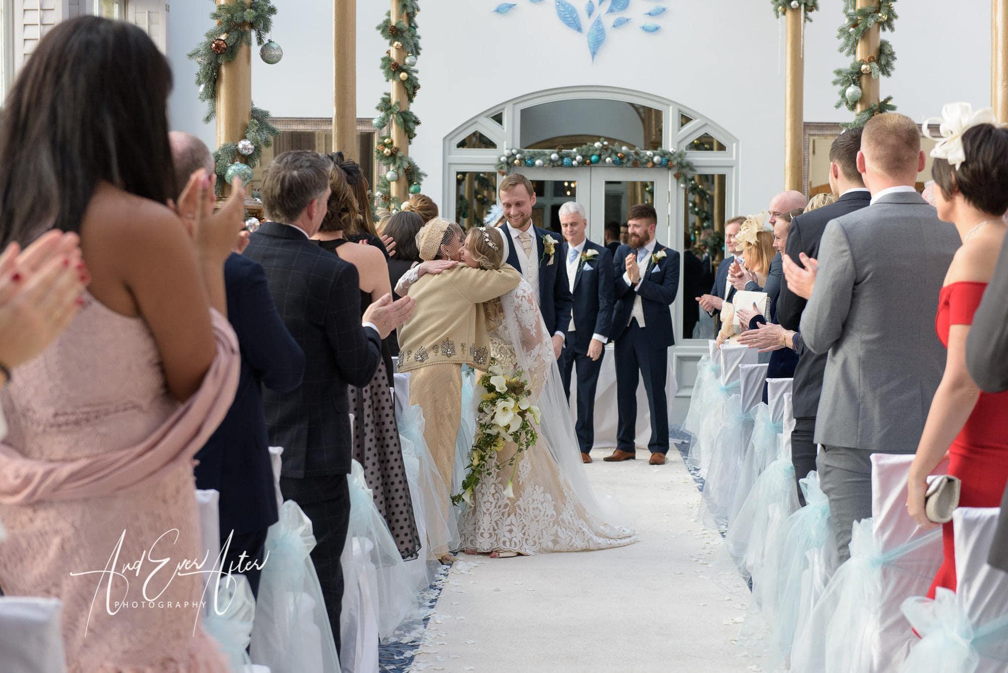 wedding ceremony, rockliffe hall, wedding photography