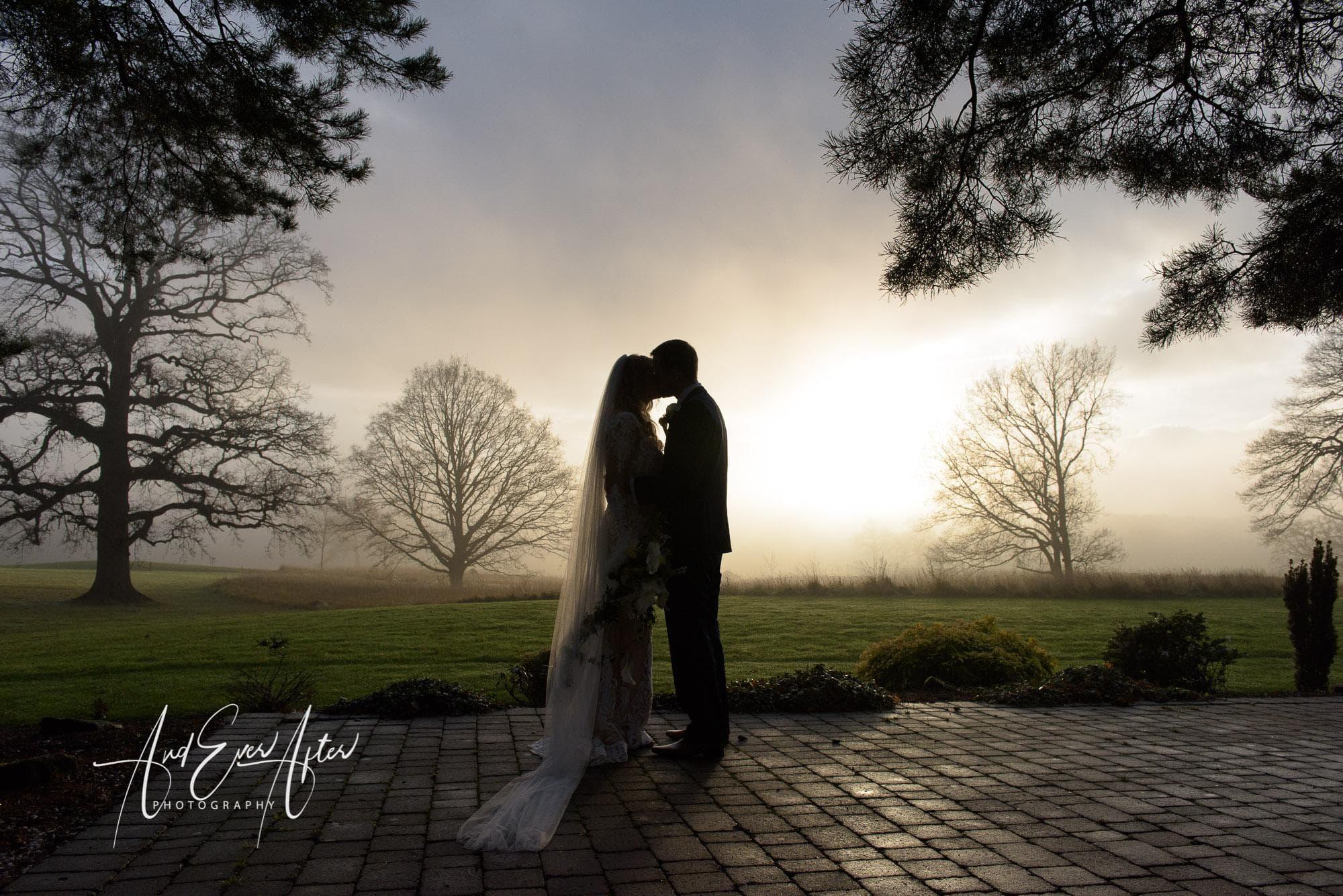Rockliffe Hall Wedding Photography, Bride and Groom