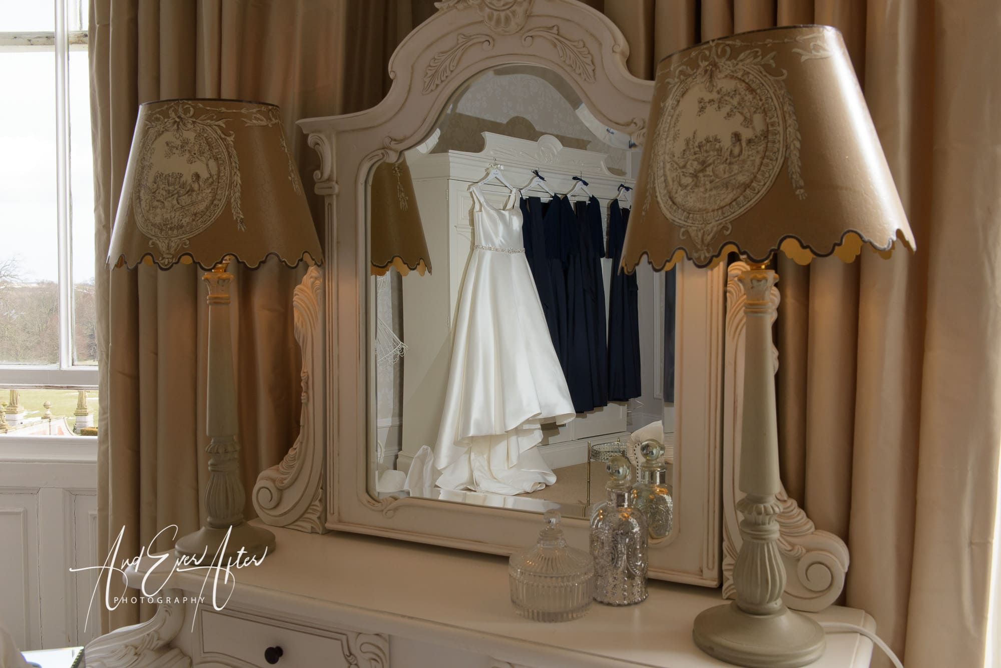 Wedding Dress, North Yorkshire wedding photographer
