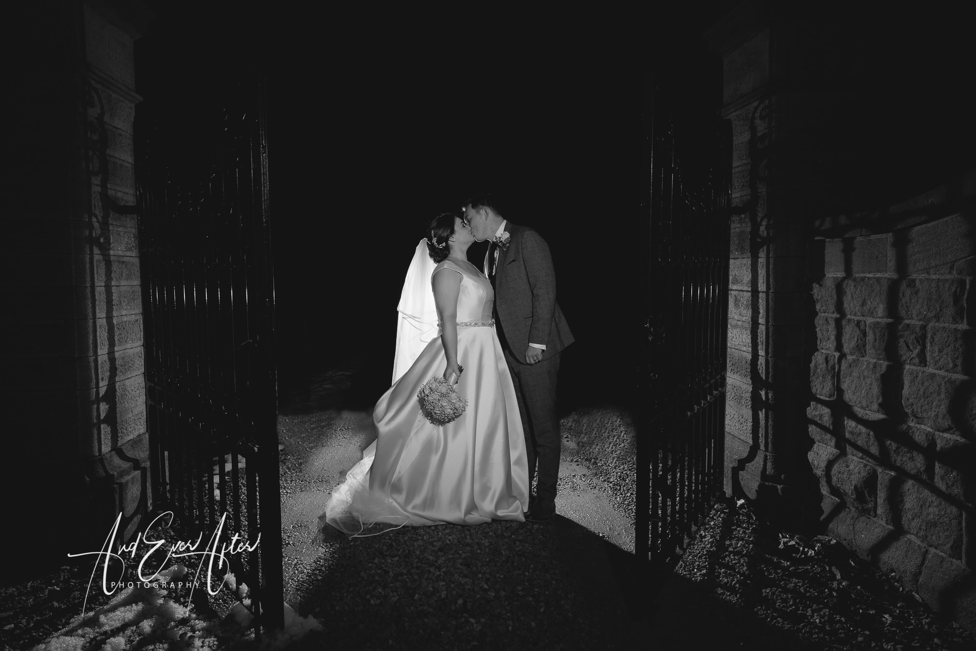 Lartington Hall Wedding Photography, Bride and Groom, And Ever After Photography