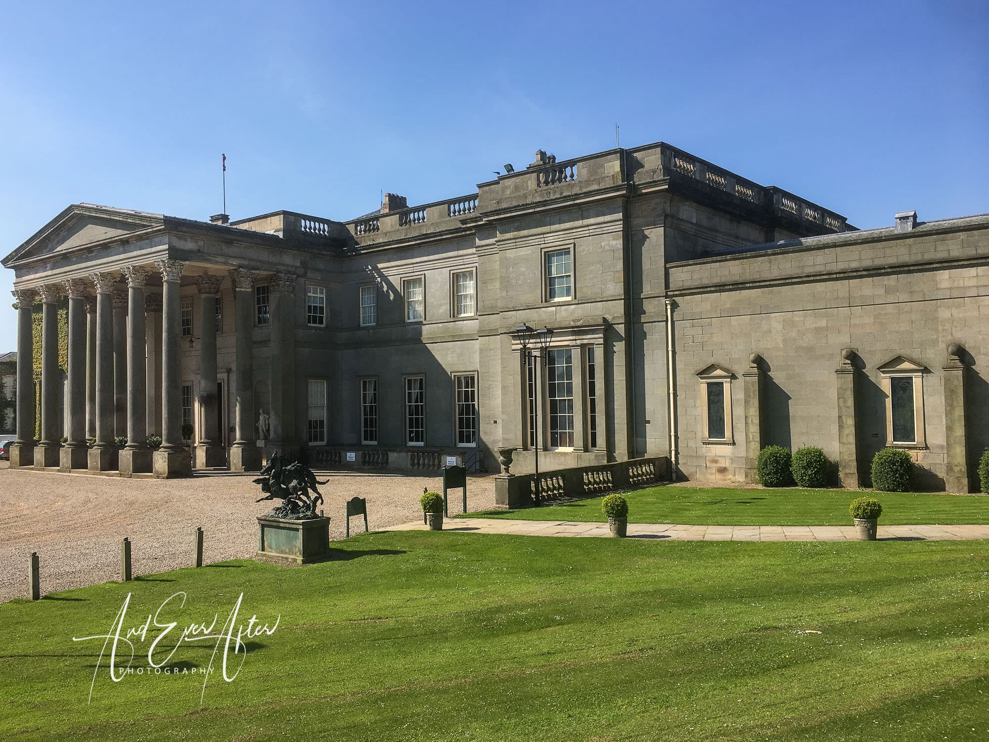 Wedding venue, wynyard hall wedding photo