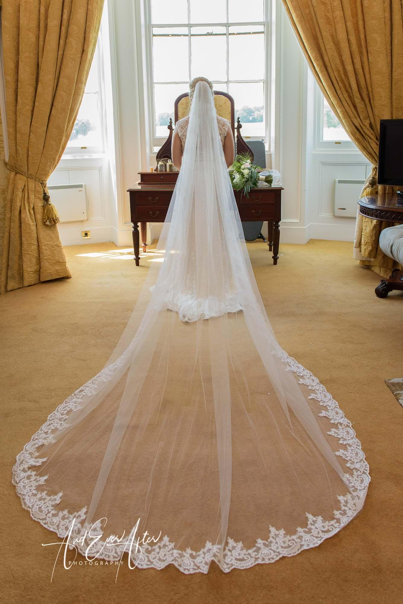wedding photo wynyard hall