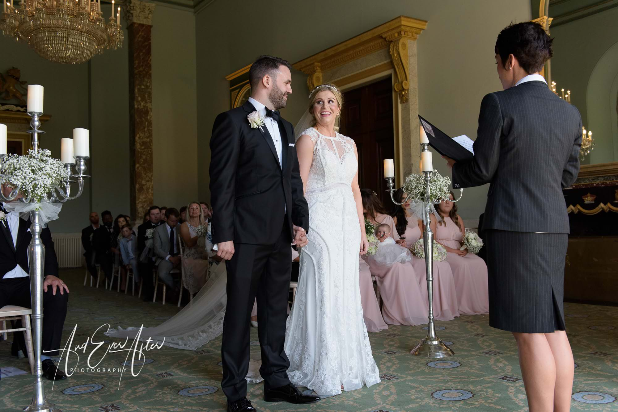 wedding ceremony wynyard hall