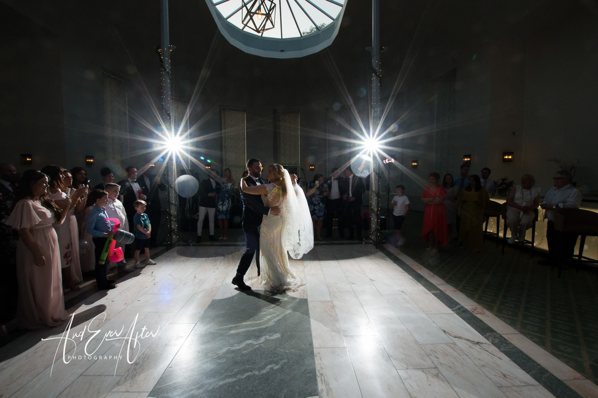 first dance, Wynyard hall, wedding photography
