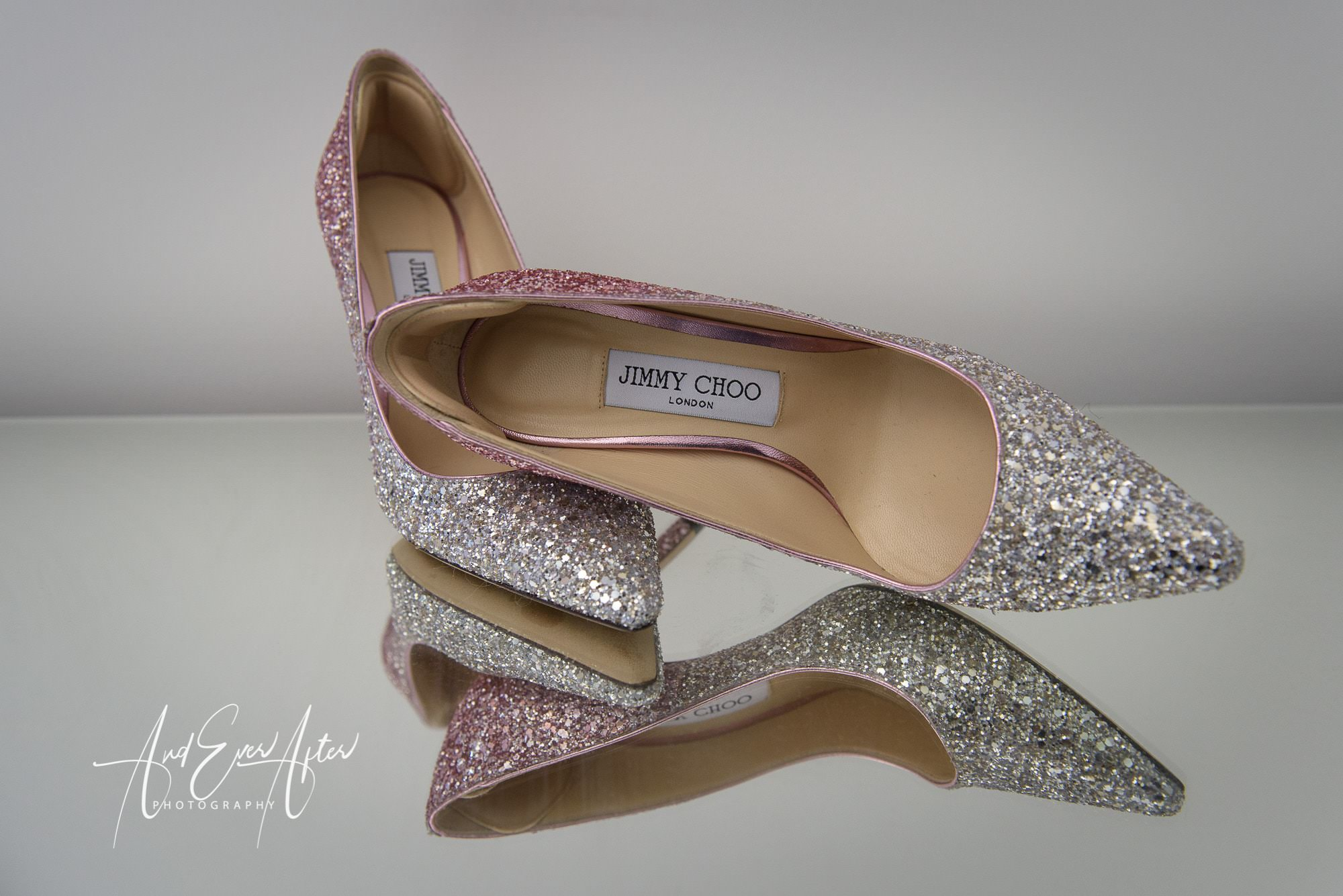 wedding shoes, and ever after photography