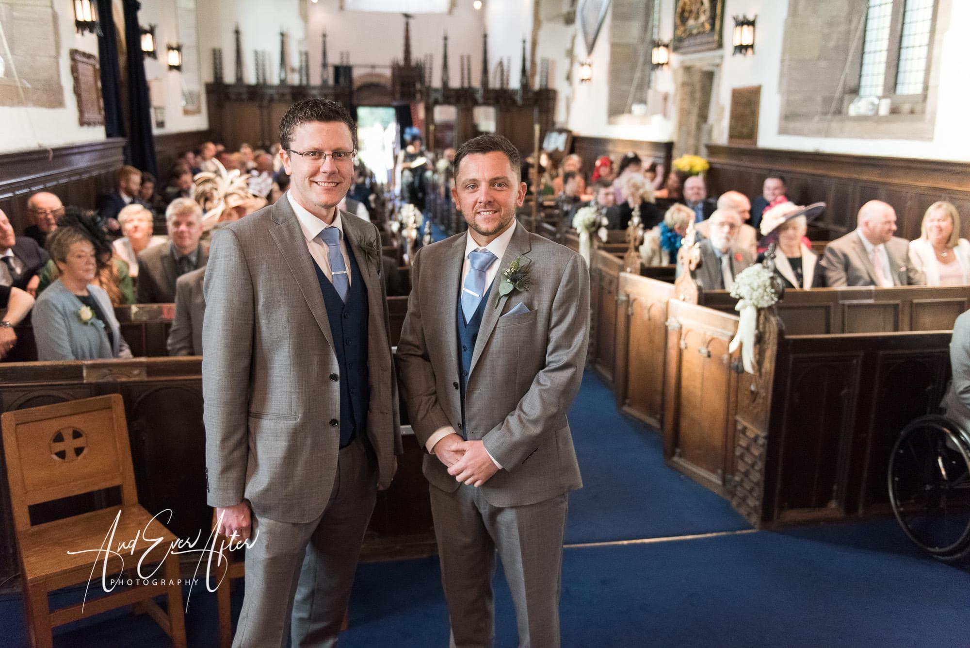 church, groom, best man