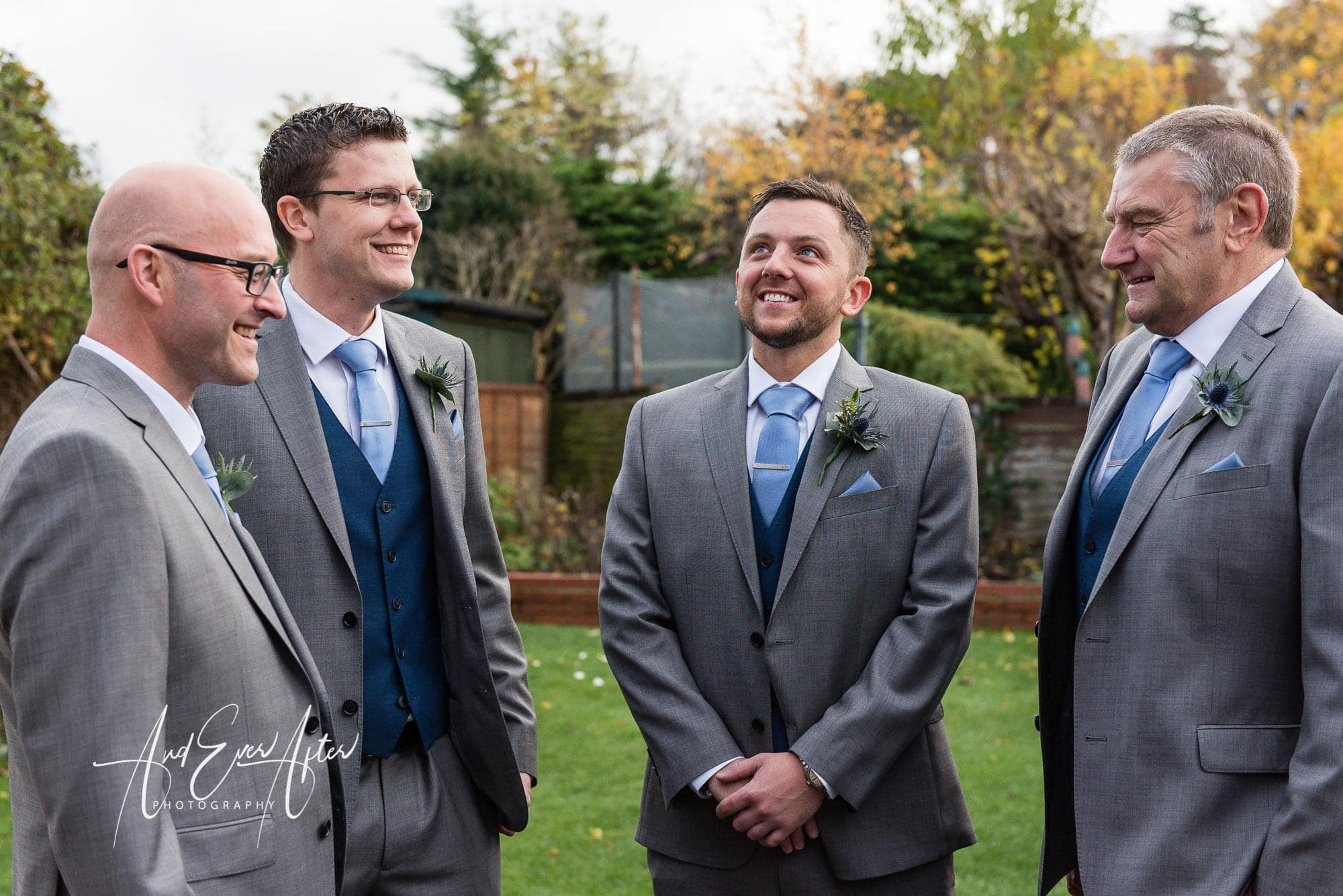 groom, best man, father of the bride