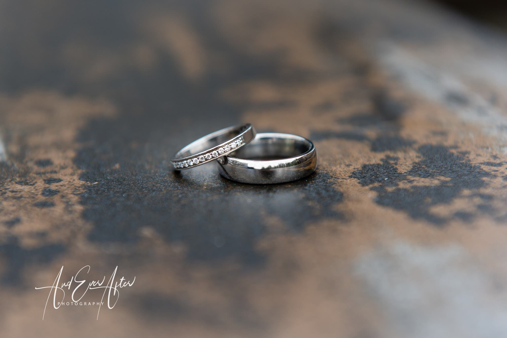 Le petit chateau, wedding rings