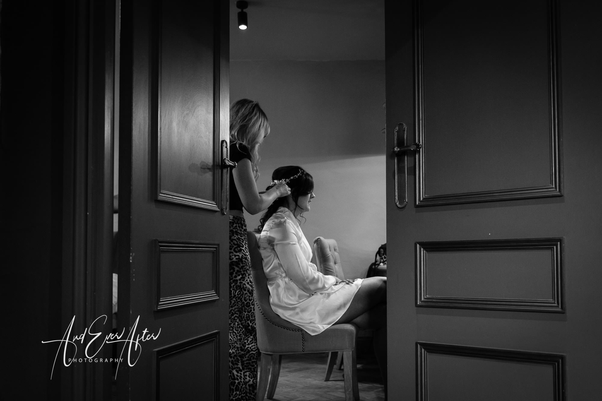 Le petit chateau, bride, preparations, and ever after photography