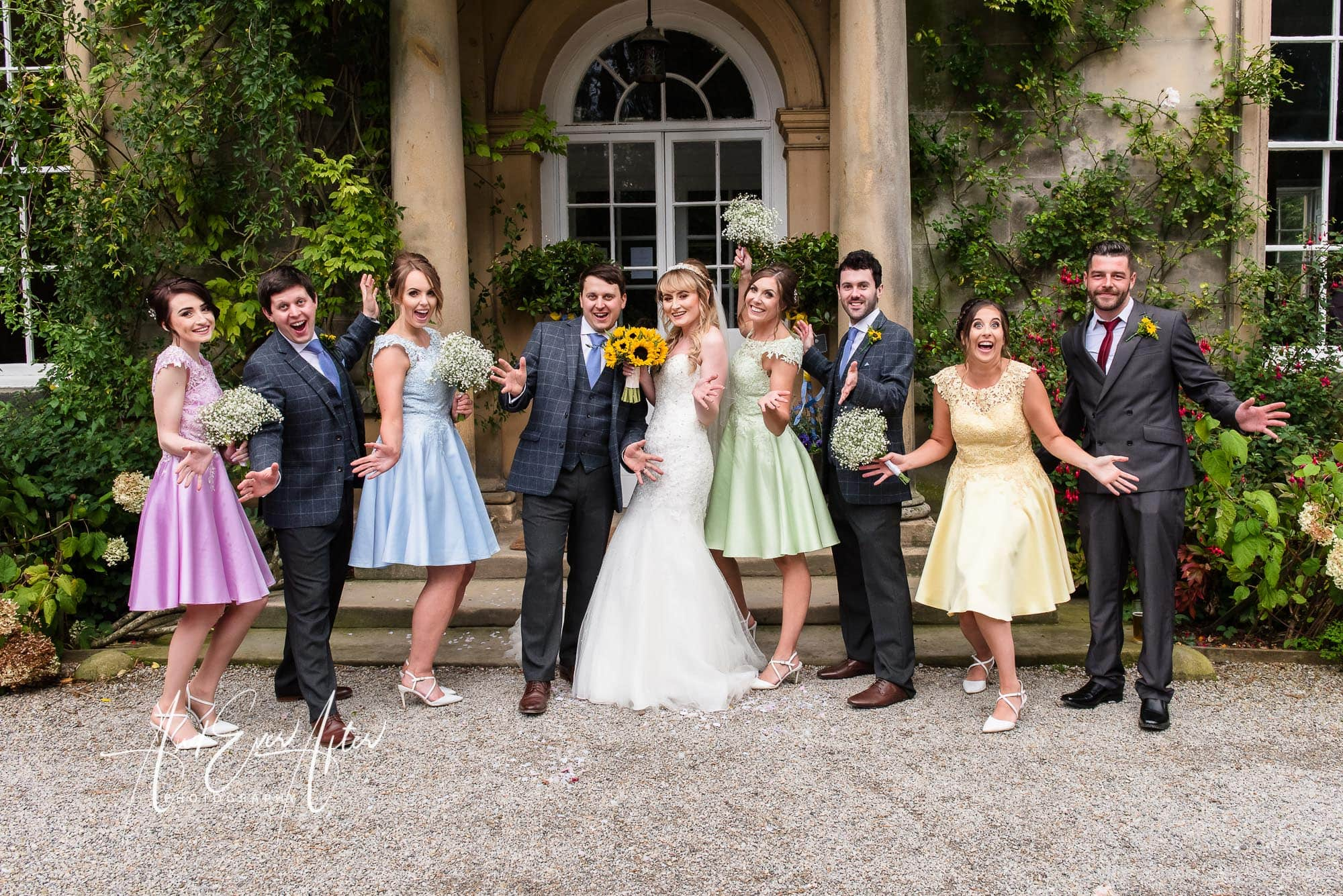 Middelton Lodge Wedding Photography, And Ever after Photography, wedding photos
