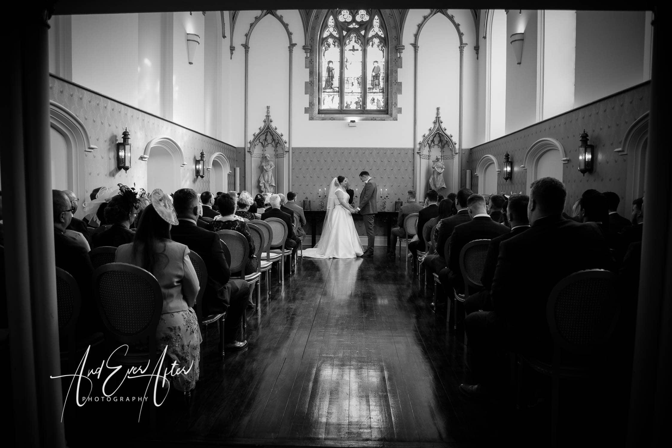 lartington hall, wedding chapel