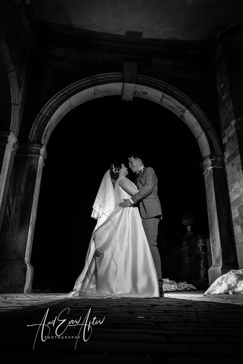 lartington hall wedding photography, bride and groom creative photography, wow shots
