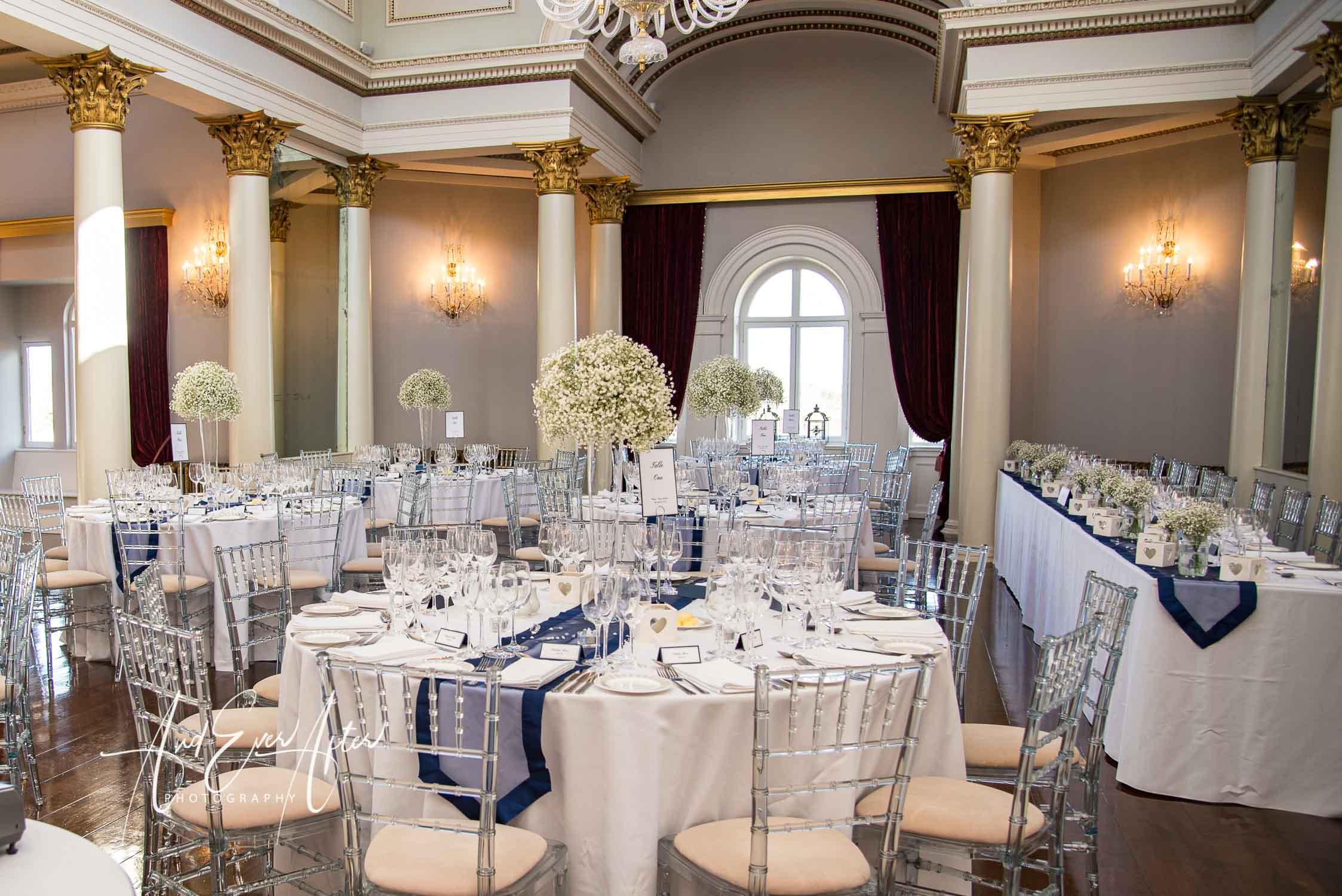 lartington hall wedding venue, wedding breakfast