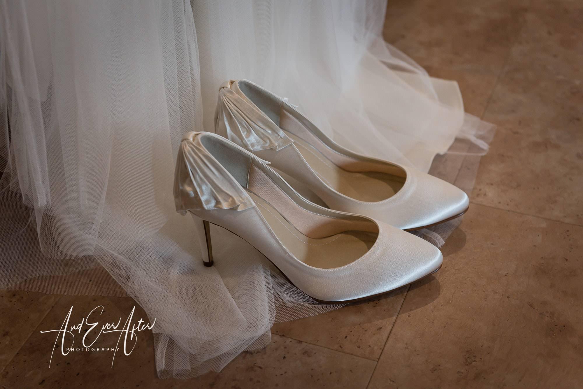 Wedding Shoes, bride