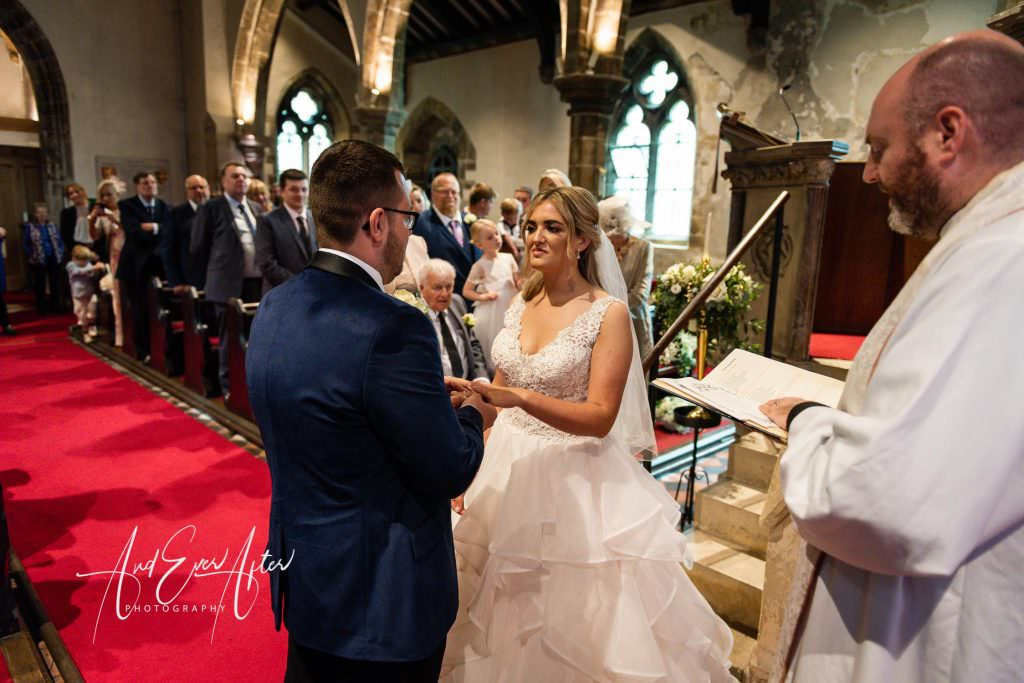 wedding photography at Goldsborough Hall, wedding ceremony