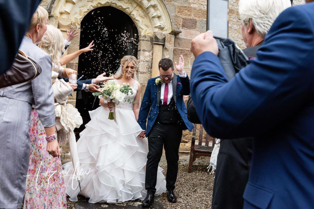 wedding photography at Goldsborough Hall, wedding ceremony