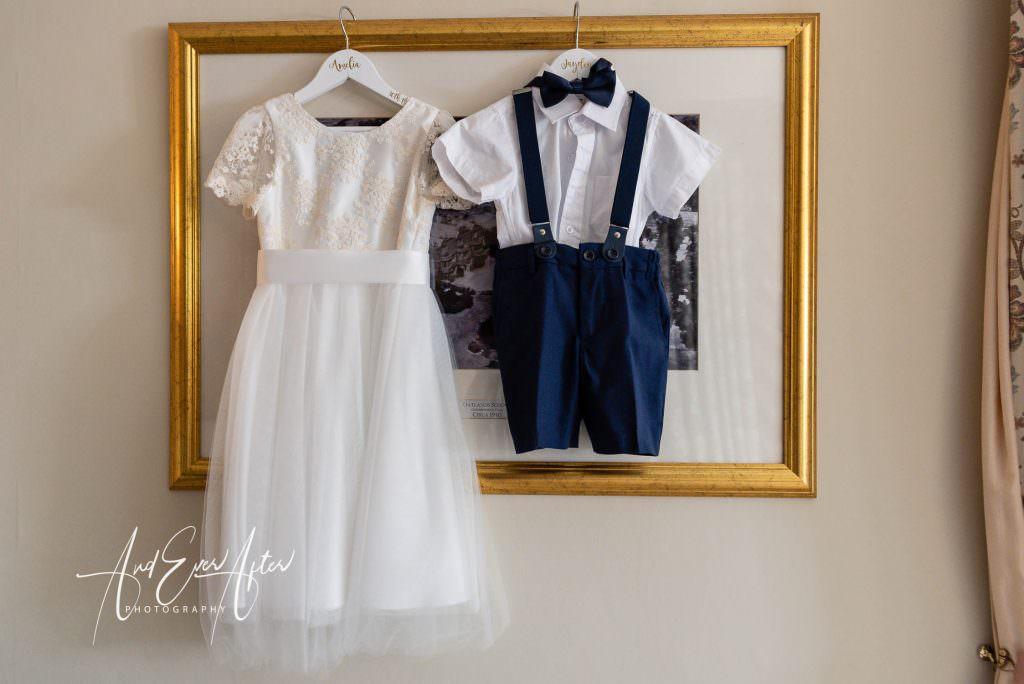 wedding day bridal preparations at Goldsborough Hall
