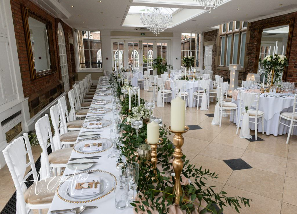 Goldsborough Hall wedding celebration
