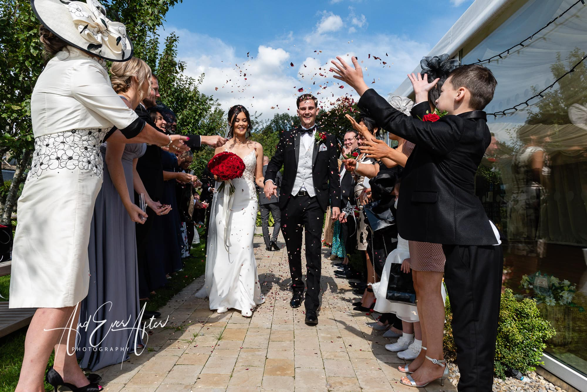 Wedding photography, the black horse at beamish wedding, bride and groom