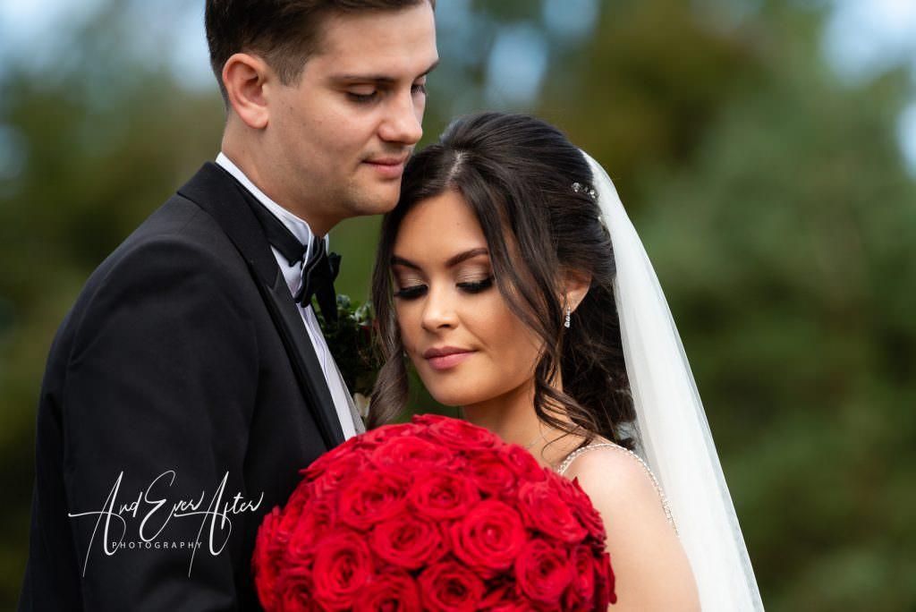 Bride and Groom, County Durham Wedding Photographer