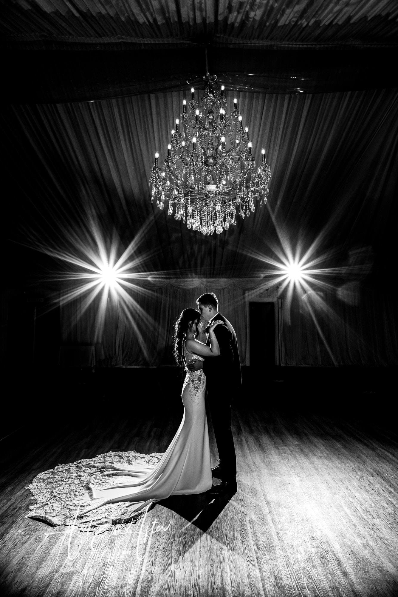Durham Wedding Photographer, first wedding dance, bride and groom
