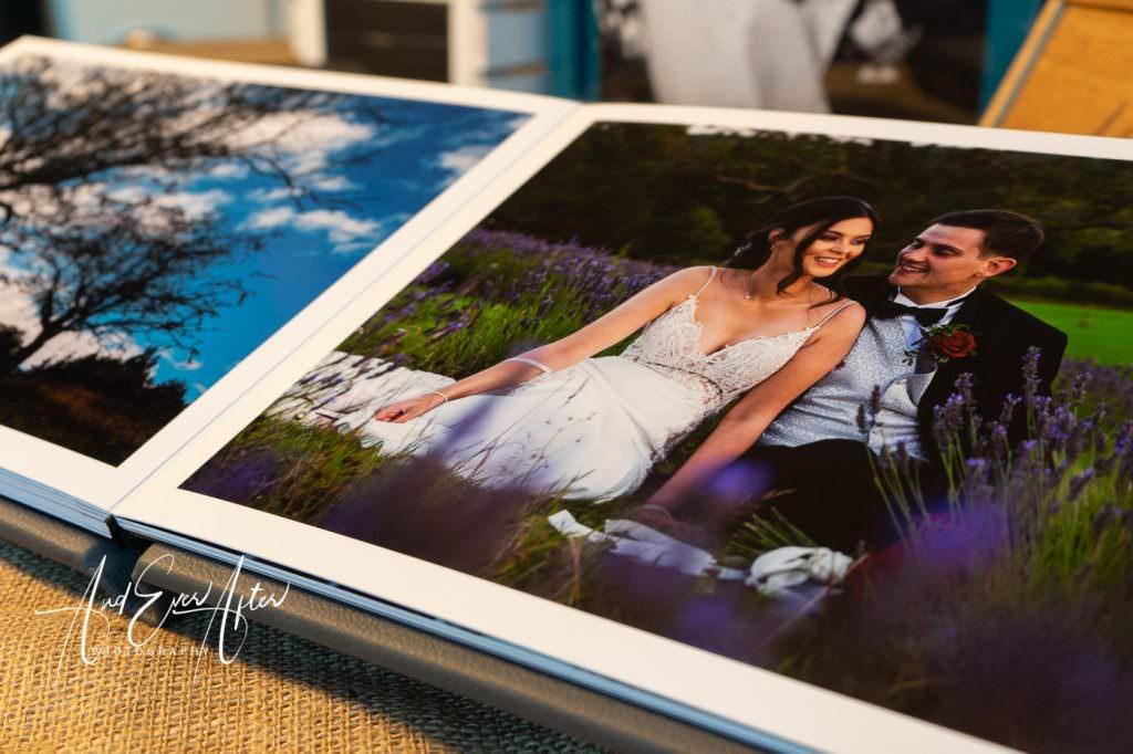 Original wedding album, wedding book