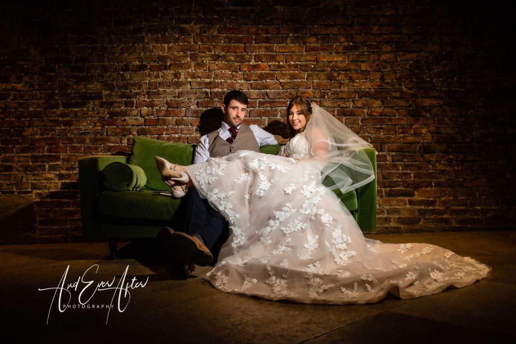 Wedding at Middleton Lodge, Wedding Couple photograph