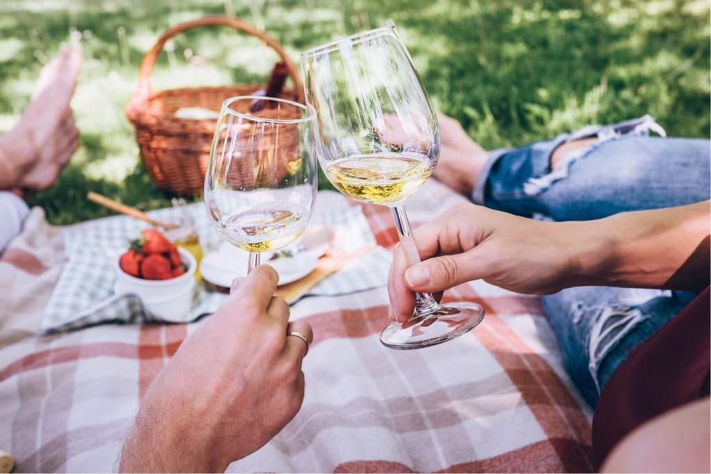 picnic wedding proposal